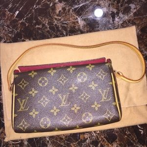 Louis Vuitton Recital Bag Clutch Retired Rare